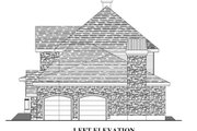 European Style House Plan - 4 Beds 2.5 Baths 2679 Sq/Ft Plan #138-338 Exterior - Other Elevation