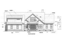 Craftsman Exterior - Front Elevation Plan #1071-22