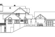 European Style House Plan - 3 Beds 3.5 Baths 3653 Sq/Ft Plan #124-586 Exterior - Other Elevation