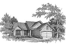 Dream House Plan - Traditional Exterior - Front Elevation Plan #70-130