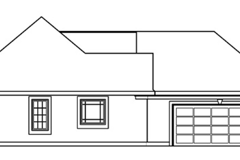European Exterior - Other Elevation Plan #124-476 - Houseplans.com