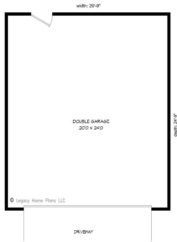 Dream House Plan - Contemporary Floor Plan - Main Floor Plan #932-232