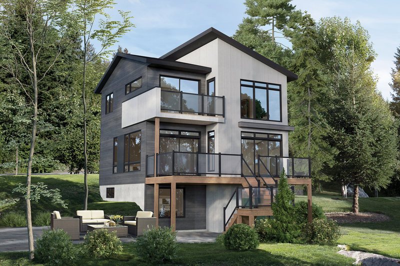 Home Plan - Cottage Exterior - Front Elevation Plan #25-4924