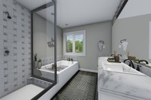House Plan Design - Traditional Interior - Master Bathroom Plan #1060-37