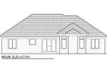 Bungalow Exterior - Rear Elevation Plan #70-978