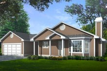 Home Plan - Traditional Exterior - Front Elevation Plan #97-109