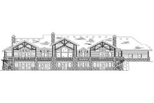 Traditional Exterior - Rear Elevation Plan #5-349