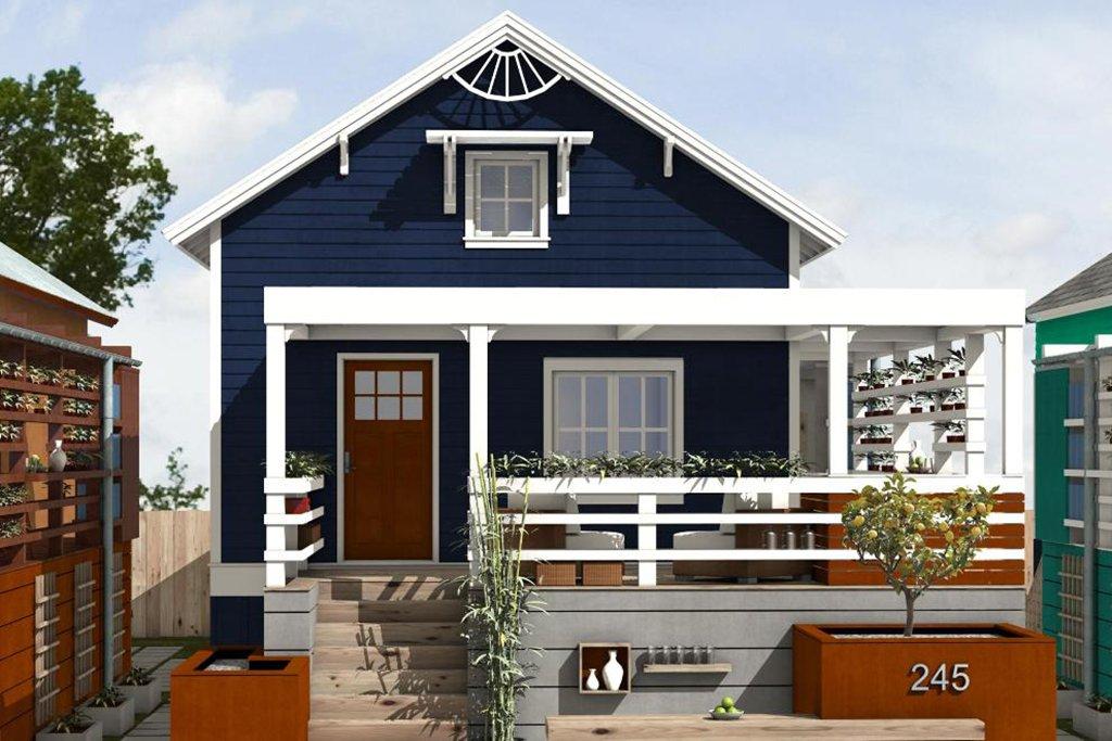 Picture of: Cottage Style House Plan 2 Beds 2 Baths 891 Sq Ft Plan 497 23 Floorplans Com
