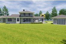 Craftsman Exterior - Rear Elevation Plan #928-335