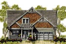 Home Plan - Farmhouse Exterior - Front Elevation Plan #20-1233