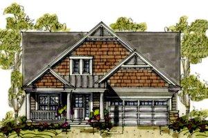 Farmhouse Exterior - Front Elevation Plan #20-1233