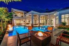 Dream House Plan - Contemporary Exterior - Rear Elevation Plan #930-475