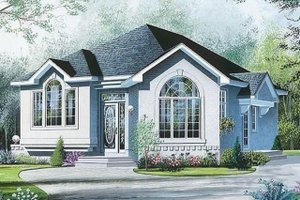 Architectural House Design - Modern Exterior - Front Elevation Plan #23-700