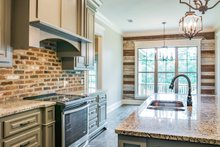 Home Plan - European Interior - Kitchen Plan #430-142