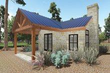 House Plan Design - Cottage Exterior - Covered Porch Plan #935-9