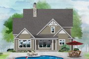 Cottage Style House Plan - 4 Beds 4 Baths 2465 Sq/Ft Plan #929-1121