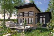 Modern Style House Plan - 2 Beds 1 Baths 1209 Sq/Ft Plan #23-2747