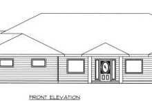 Bungalow Exterior - Other Elevation Plan #117-558