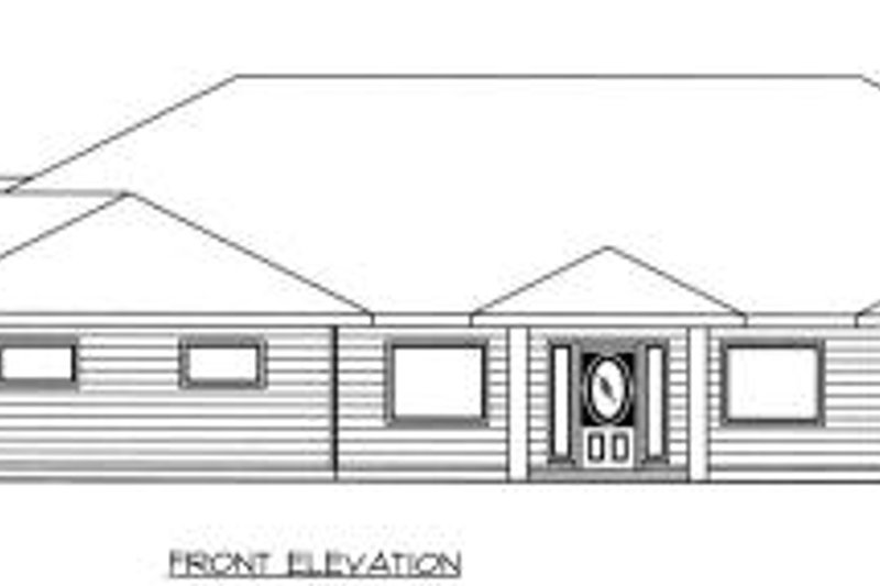 Bungalow Exterior - Other Elevation Plan #117-558 - Houseplans.com