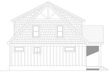 Architectural House Design - Country Exterior - Other Elevation Plan #932-54