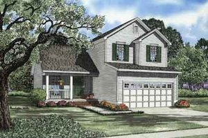 Traditional Exterior - Front Elevation Plan #17-2095