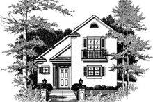 Home Plan - Cottage Exterior - Front Elevation Plan #37-133