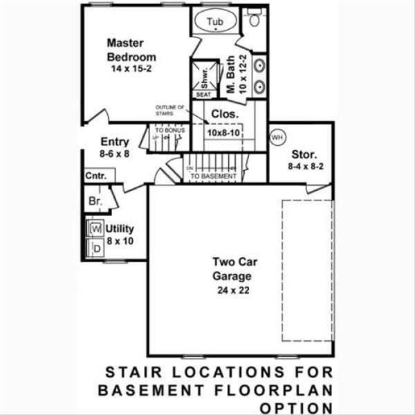 European Floor Plan - Other Floor Plan Plan #21-119