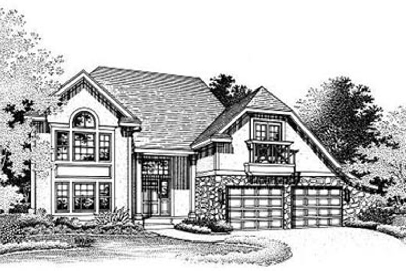 Traditional Exterior - Other Elevation Plan #50-190 - Houseplans.com