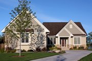 Traditional Style House Plan - 4 Beds 4.5 Baths 3788 Sq/Ft Plan #51-491 Exterior - Other Elevation