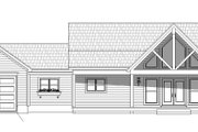 Country Style House Plan - 2 Beds 2 Baths 1650 Sq/Ft Plan #932-37 Exterior - Front Elevation