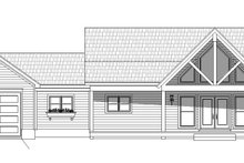 House Plan Design - Country Exterior - Front Elevation Plan #932-37