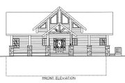Bungalow Style House Plan - 3 Beds 2.5 Baths 3278 Sq/Ft Plan #117-541 Exterior - Other Elevation