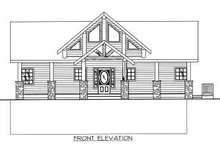 Home Plan - Bungalow Exterior - Other Elevation Plan #117-541