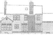 Farmhouse Style House Plan - 5 Beds 3.5 Baths 2705 Sq/Ft Plan #3-217 Exterior - Rear Elevation
