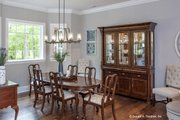European Style House Plan - 4 Beds 3 Baths 2485 Sq/Ft Plan #929-25 Interior - Dining Room