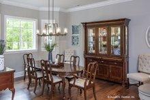 Dream House Plan - European Interior - Dining Room Plan #929-25