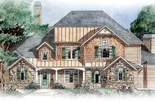 Traditional Exterior - Front Elevation Plan #54-159