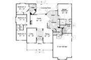 Traditional Style House Plan - 4 Beds 2 Baths 2151 Sq/Ft Plan #417-201 Floor Plan - Main Floor