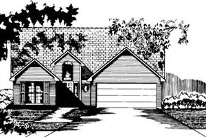 Traditional Exterior - Front Elevation Plan #15-232