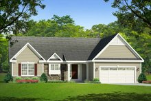 House Plan Design - Ranch Exterior - Front Elevation Plan #1010-4