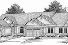 Dream House Plan - Traditional Exterior - Front Elevation Plan #70-738