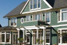 House Design - Colonial Exterior - Rear Elevation Plan #48-151