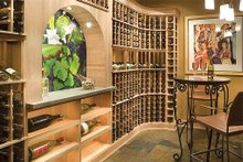 Dream House Plan - Wine Room - 5100 Square foot Craftsman home