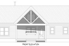 House Plan Design - Country Exterior - Front Elevation Plan #932-305