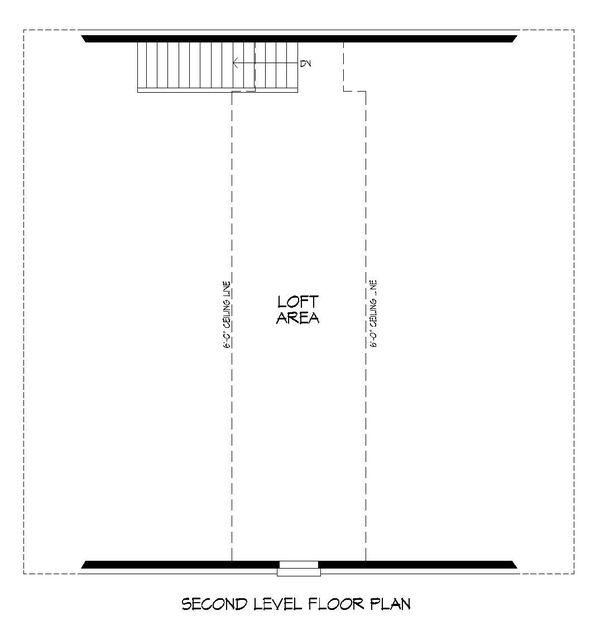 Country Floor Plan - Upper Floor Plan Plan #932-270