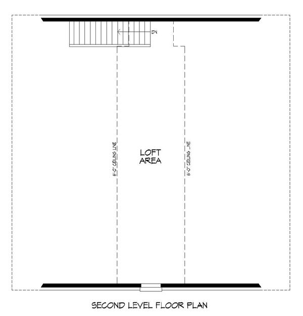 Dream House Plan - Country Floor Plan - Upper Floor Plan #932-270