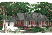 Southern Style House Plan - 4 Beds 3 Baths 2836 Sq/Ft Plan #406-161