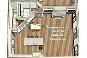 Bungalow Style House Plan - 2 Beds 2 Baths 2160 Sq/Ft Plan #44-238 Floor Plan - Other Floor