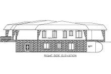 Dream House Plan - Modern Exterior - Other Elevation Plan #117-631