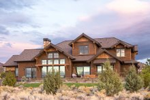 House Plan Design - Craftsman Exterior - Rear Elevation Plan #892-16